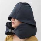 护颈U形带帽枕